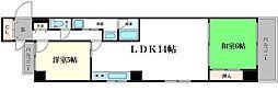 松屋レジデンス[7階]の間取り