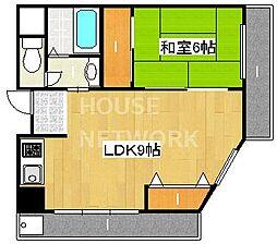 choei 第5コーポ中川[505号室号室]の間取り
