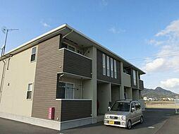 香川県三豊市三野町下高瀬の賃貸アパートの外観