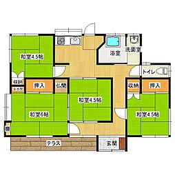 [一戸建] 千葉県船橋市高根台7丁目 の賃貸【/】の間取り