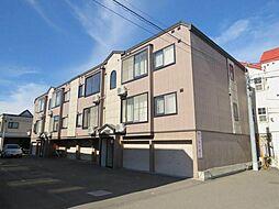 北海道札幌市東区北二十四条東7丁目の賃貸アパートの外観