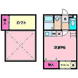 First Square D棟[2階]の間取り