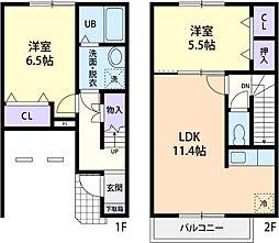 Lien Famille[2階]の間取り