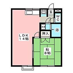 エトワール浅草 B棟[1階]の間取り