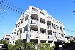 東京都板橋区赤塚1丁目の賃貸マンションの外観