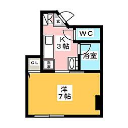 かむろビル 東館[2階]の間取り