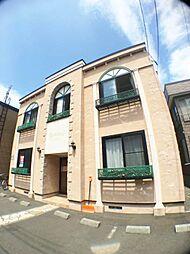 北海道札幌市豊平区平岸四条4丁目の賃貸アパートの外観