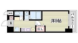STATION COURT[7階]の間取り
