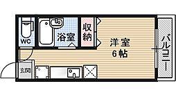 ブリックフォートアシハラ[311号室号室]の間取り