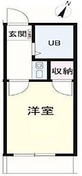 メゾンフィオーレ[2階]の間取り