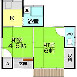 [一戸建] 東京都立川市幸町5丁目 の賃貸【東京都 / 立川市】の間取り