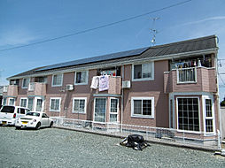 静岡県浜松市北区東三方町の賃貸アパートの外観