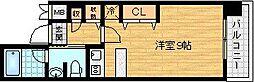 大阪府大阪市福島区吉野4の賃貸マンションの間取り