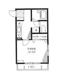 東京都豊島区長崎3丁目の賃貸マンションの間取り