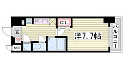 STATION COURT[3階]の間取り