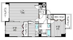パレスITOI[5階]の間取り