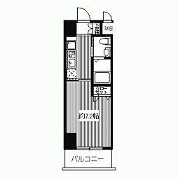 ドゥーエ江坂II(旧プライムアーバン江坂II)[0202号室]の間取り