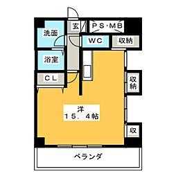 きさらぎ21[10階]の間取り