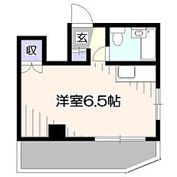 メゾンコーワ[2階]の間取り