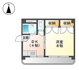 エスポワ−ル上飯田[3階]の間取り