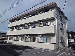 栃木県宇都宮市東峰町の賃貸マンションの外観