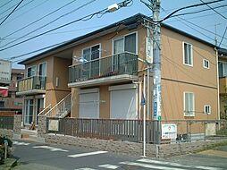 神奈川県茅ヶ崎市円蔵2丁目の賃貸アパートの外観
