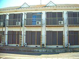 茨城県古河市静町の賃貸アパートの外観