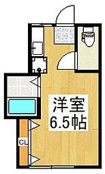 大明荘[2階]の間取り