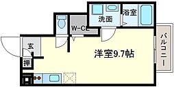 フリ−ダム[1階]の間取り
