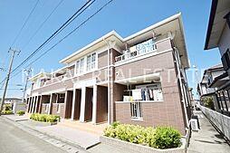 徳島県小松島市大林町字金岡の賃貸アパートの外観