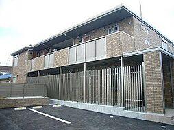 大阪府高槻市如是町の賃貸アパートの外観
