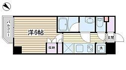東京都豊島区巣鴨1丁目の賃貸マンションの間取り