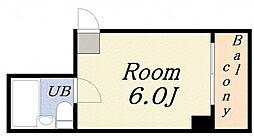 イブキホーム[4階]の間取り