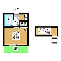 アシスト小幡南[1階]の間取り