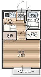 ゴールドクレスト[2階]の間取り