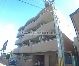 大阪府大東市中垣内2丁目の賃貸マンションの外観