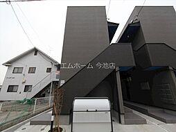 愛知県名古屋市守山区小幡南2丁目の賃貸アパートの外観