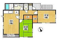 トレド原宿E[2階]の間取り