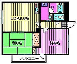 コンフォートスクエア[3階]の間取り