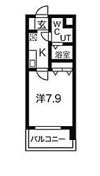 Mステージ栄[8階]の間取り