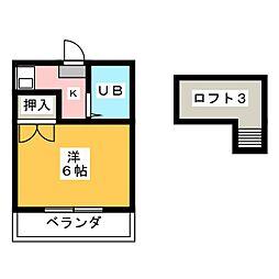 Ritela笠寺[1階]の間取り