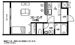 メゾンH&DIII[2階]の間取り