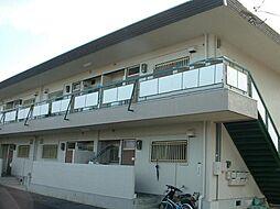 山一アパート[1号室]の外観
