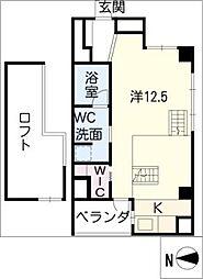 GKレジデンス[7階]の間取り