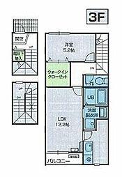 青葉.com[3階]の間取り