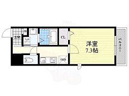 名古屋市営名城線 久屋大通駅 徒歩7分の賃貸マンション 11階1Kの間取り