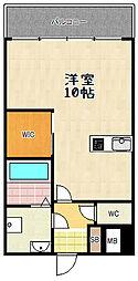 NECO SUMUSU[302号室]の間取り