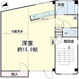 ビルディングヤマオカ3[1階]の間取り
