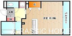 大阪府堺市堺区市之町東5丁の賃貸マンションの間取り