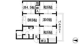 清和台住宅(公社分譲)[1階]の間取り